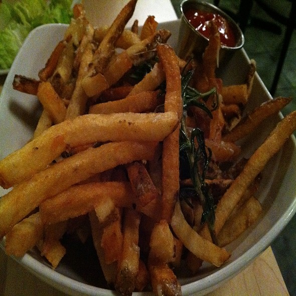 Garlic Rosemary Fries - Donna's - Cross Keys, Baltimore, MD