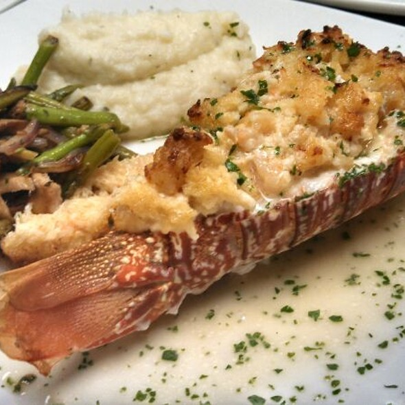 Crab Stuffed Lobster Tail - Duval's Fresh. Local. Seafood., Sarasota, FL