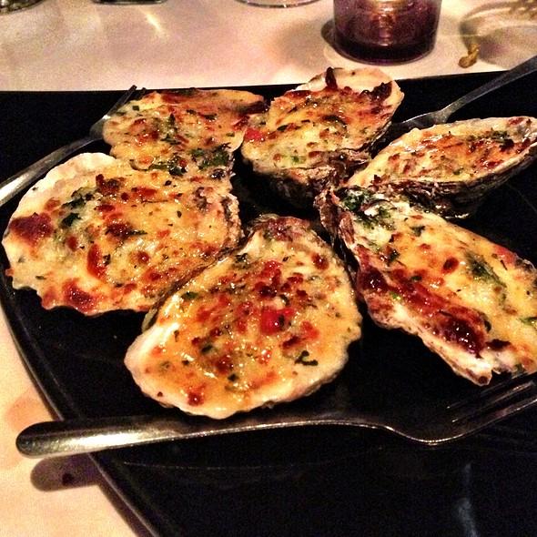 Oysters Rockefeller - Tarantino Restaurant, Westport, CT