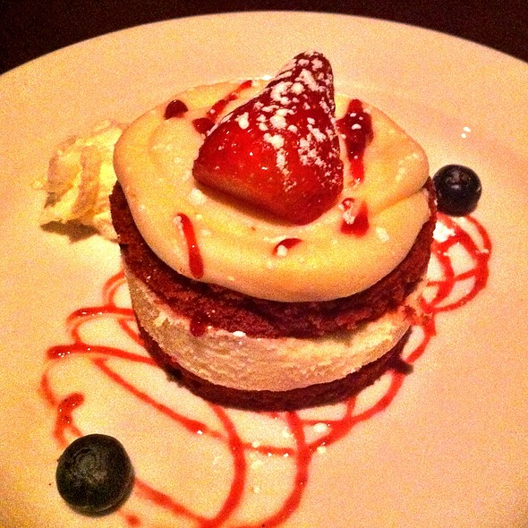 Red Velvet Cake - Wildfire Steakhouse North York, Toronto, ON