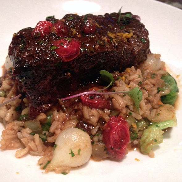Slow Braised Beef Short Ribs With Farro - Dyrons Low country, Mountain Brook, AL