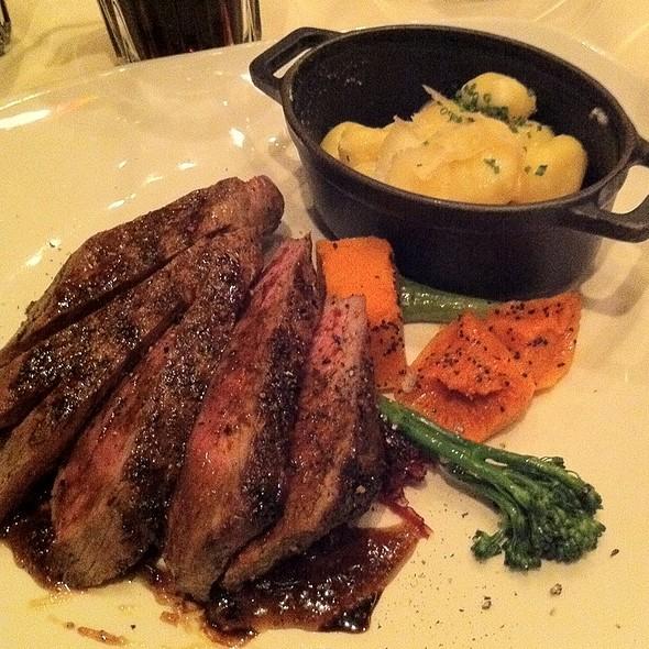 Lamb Loin With Gnocchi - Bistecca Italian Steakhouse & Wine Bar, Edmonton, AB
