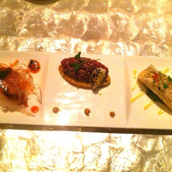 Trio Of Seafood - Mizumi - Wynn Las Vegas, Las Vegas, NV