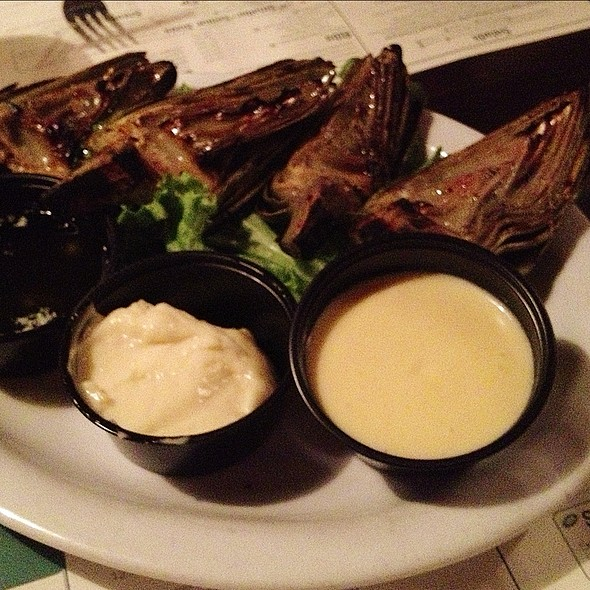 Grilled Artichoke - Naples Rib Company, Long Beach, CA