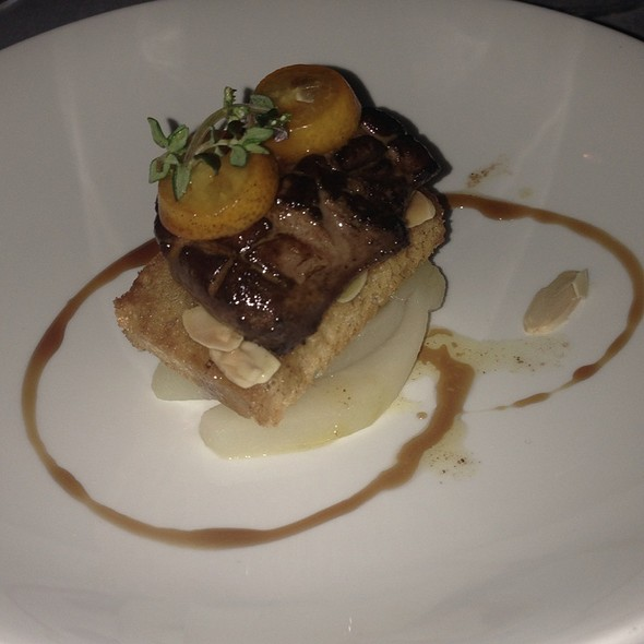 Seared Hudson Valley Foie Gras - Bacco Ristorante - Michigan, Southfield, MI