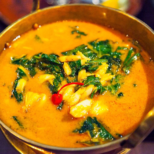 Crab Meat Curry - Patara - Soho, London