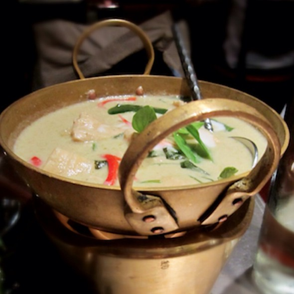 Thai Green Curry - Patara - Soho, London