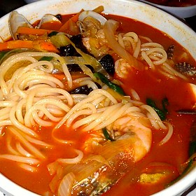 Spicy Seafood Soup - Seorabol Korean Restaurant, Philadelphia, PA