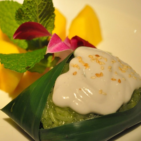 Mango Sticky Rice - Patara - Soho, London