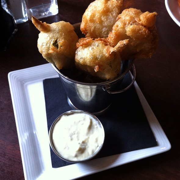 Deep Fried Pickles - Penny Farthing Pub, Victoria, BC
