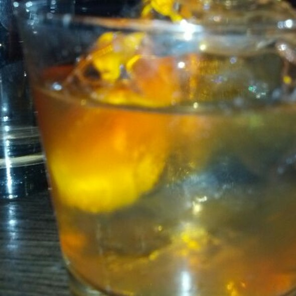 Old Fashion w/orange Bitters - Green Russell, Denver, CO