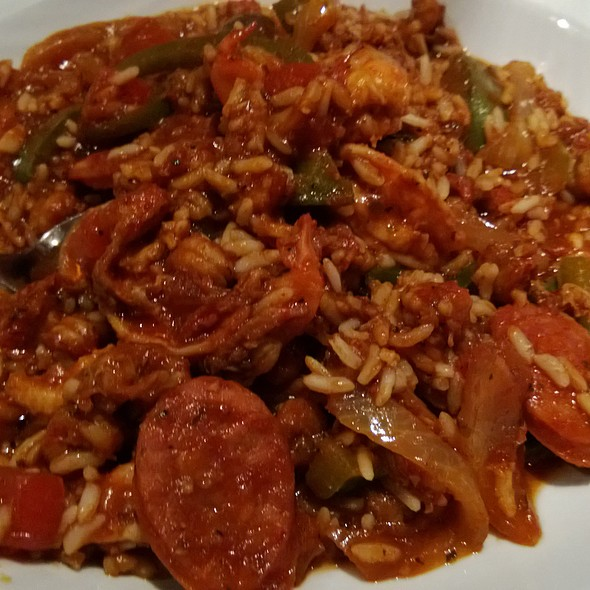 Andouille Jambalaya - High Street Caffe & Vudu Lounge, West Chester, PA