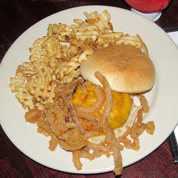 Chipotle Burger - Robin Alexander, An American Bistro, Lynchburg, VA