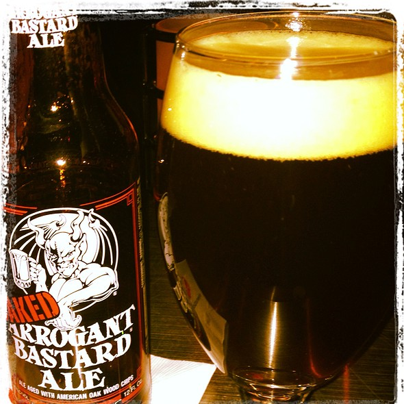 Arrogant Bastard Oaked Ale - Sweetwater Tavern and Grille, Chicago, IL