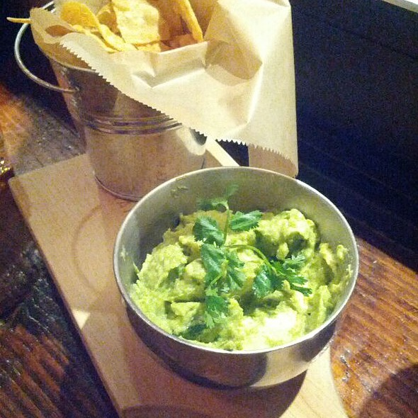Guacamole and Chips - The Painted Burro, Somerville, MA