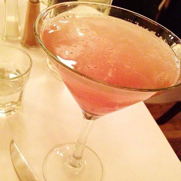 Lychee Martini - Bistro La Source, Jersey City, NJ