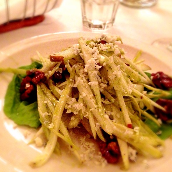 Endive And Asian Pear Salad - Bistro La Source, Jersey City, NJ