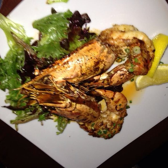 Grilled Prawns - Ouzo Bay, Baltimore, MD