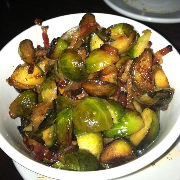 Brussels Sprouts With Bacon & Shallots - Rue Dumaine, Centerville, OH