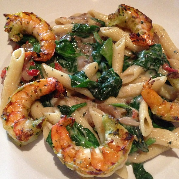 Grilled Jumbo Shrimp Penne Pasta - Seasons 52 - San Diego - UTC, San Diego, CA