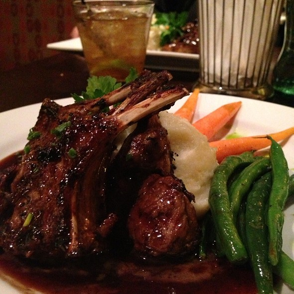 Grilled Lamb Chops - 1515 Restaurant & Lounge, Walnut Creek, CA