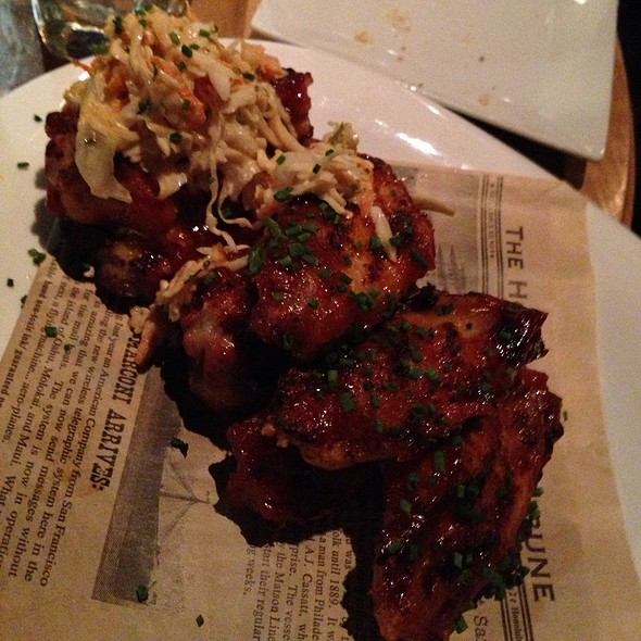 Charred Chicken Wings - The Twisted Tail, Philadelphia, PA