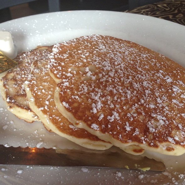 Oatmeal Pancakes - Ciccio's / Water, Tampa, FL