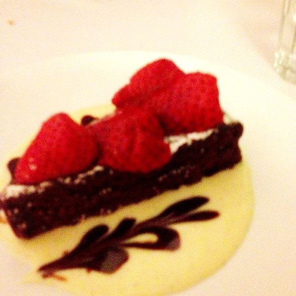 torta tenerina - Tigelleria Organic Restaurant, Campbell, CA