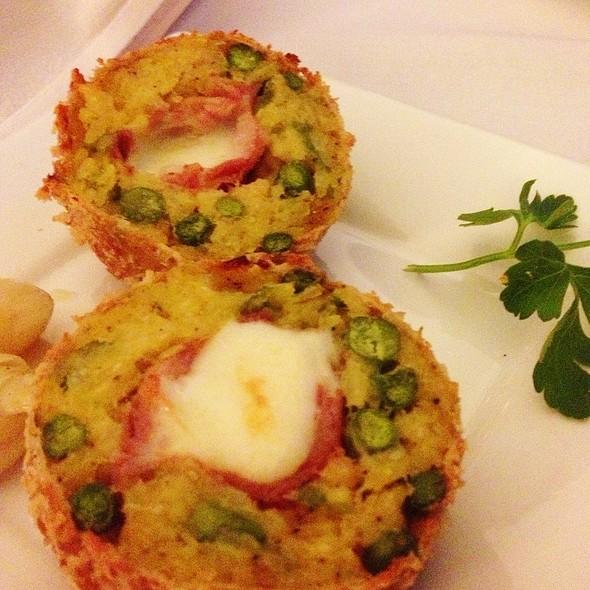 Arancini Alla Pancetta - Tigelleria Organic Restaurant, Campbell, CA