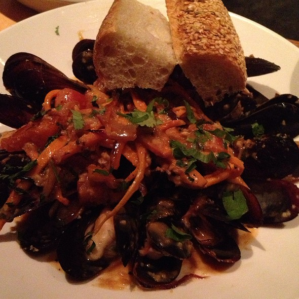 Oven Roasted Penn Cove Mussels - Ten Mercer, Seattle, WA