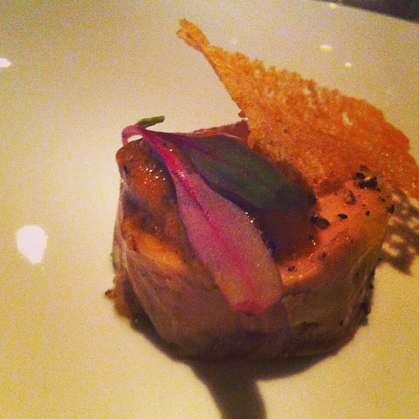 Foie Gras And Sea Urchin - La Chronique, Montréal, QC