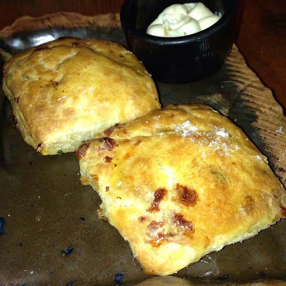 Cheddar And Chive Biscuit With Chive Butter - Marc Forgione, New York, NY