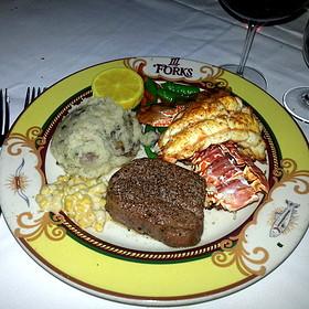 Steak and Lobster Tail - III Forks Austin, Austin, TX