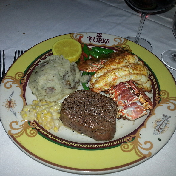 Steak and Lobster Tail - III Forks - Austin, Austin, TX