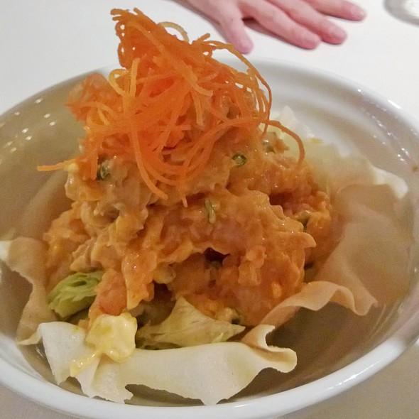 Spicy mango prawns - Wasabi Sushi Bistro, Winnipeg, MB