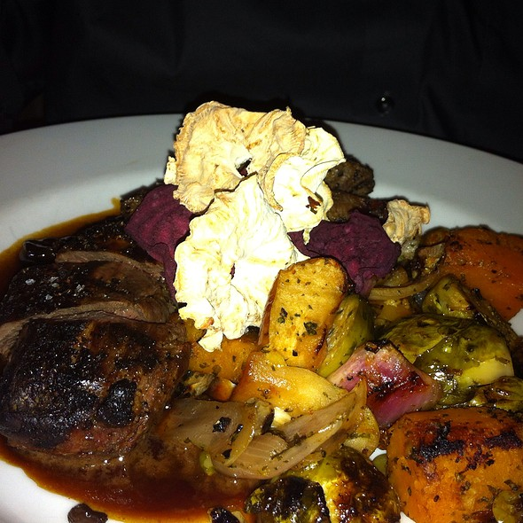 White Tail Venison And Root Vegetables - Toasted Oak Grill & Market, Novi, MI