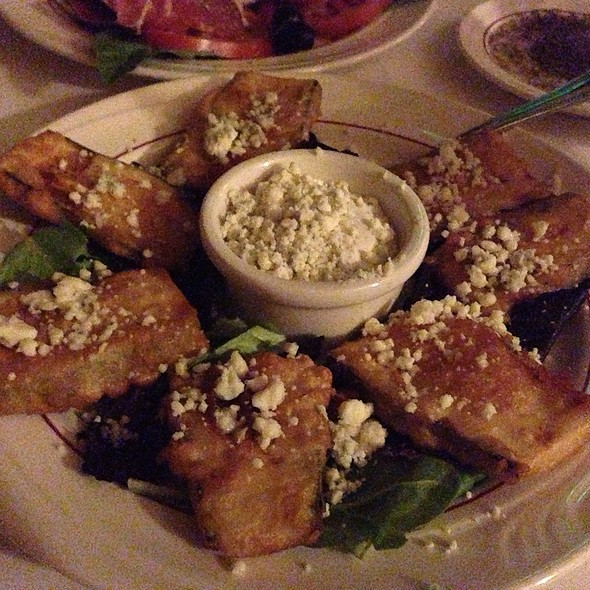 Fried Zuccini - Villa Ravenna Fine Dining, Tulsa, OK