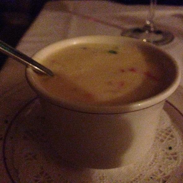 Lobster Soup - Villa Ravenna Fine Dining, Tulsa, OK