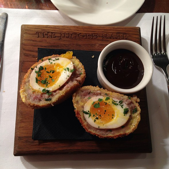 Scotch Egg - The Jugged Hare, London