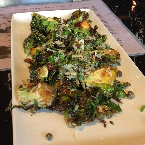 Fried Brussels Sprouts - Trattoria Italian Kitchen, Vancouver, BC