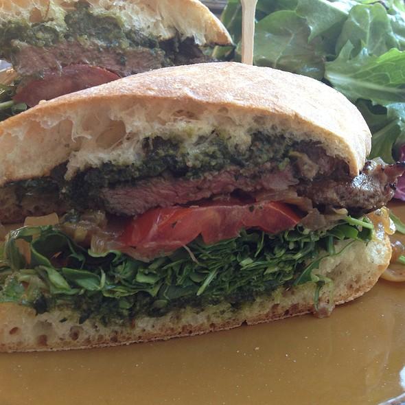 Grilled Lamb Sandwich - Boca Pizzeria, Novato, CA