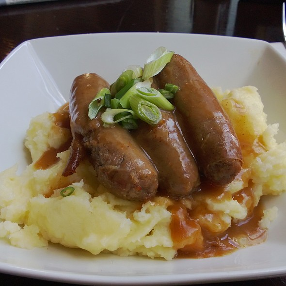Bangers and Mash - Smollensky's Canary Wharf Restaurant, London