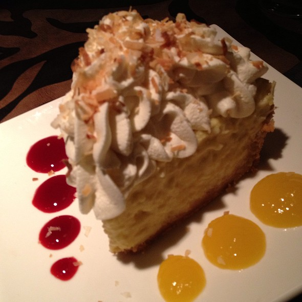 Coconut Cream Pie - Revolution Grille, Toledo, OH