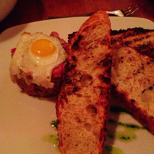 steak tartare - Bistro Vendome, Denver, CO