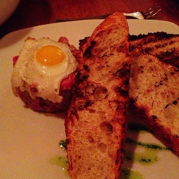 steak tartare - Bistro Vendome, Denver, CO