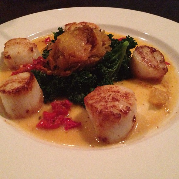 Seared Scallops - Zoom, Park City, UT
