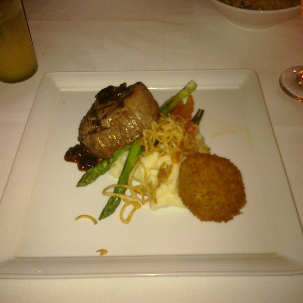 Filet Mignon w/ Black Truffle Mash - Perla at La Concha, A Renaissance Resort, San Juan, PR