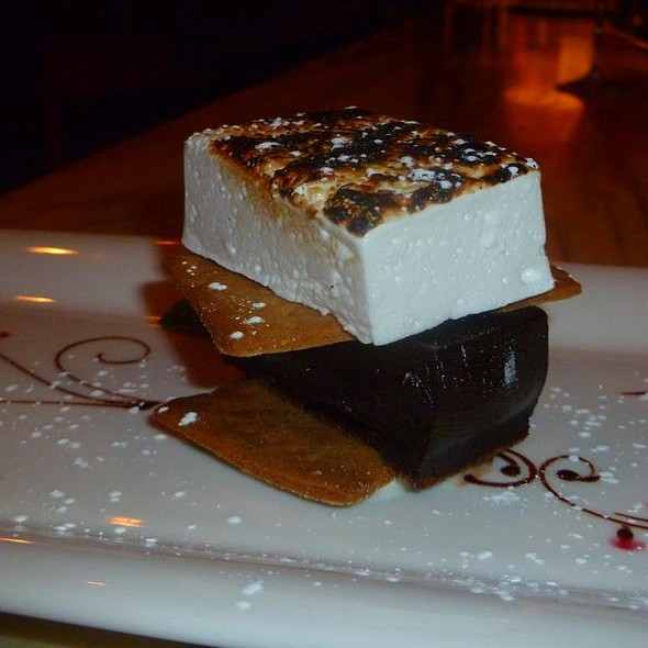 "Housemade Chocolate ""S'more"" - Il Capriccio, Waltham, MA"