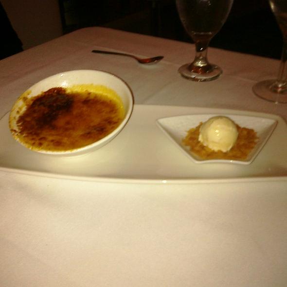 Pumpkin Nutmeg Creme Brulee - Perla at La Concha, A Renaissance Resort, San Juan, PR