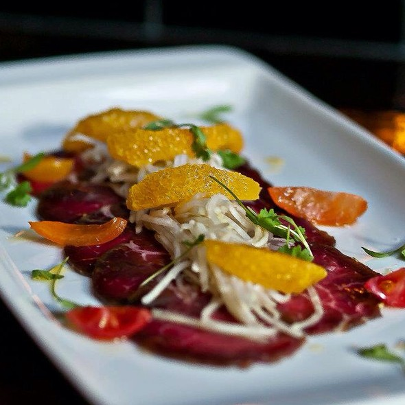 Thai Spices Beef Carpaccio - Bond Street Social, Baltimore, MD